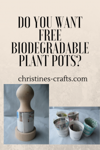 Free biodegradable pots