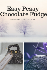 Easy Peasy chocolate fudge