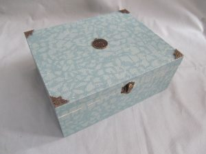 Decoupage Grey Box