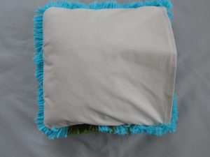 Back of cushion cover