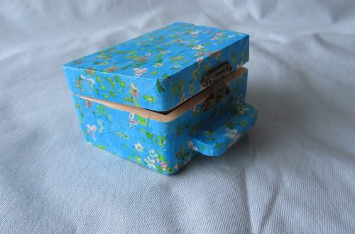Completed Decoupage Case