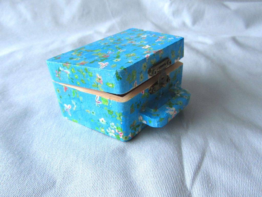 Completed decoupage box