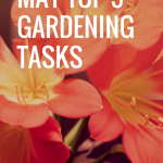 May- Top 5 Gardening Tasks