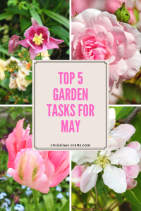 Top 5 Garden Tasks for May pin