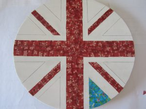Mid decoupage - table upcycle