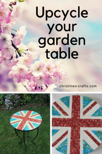 Upcycle your garden table