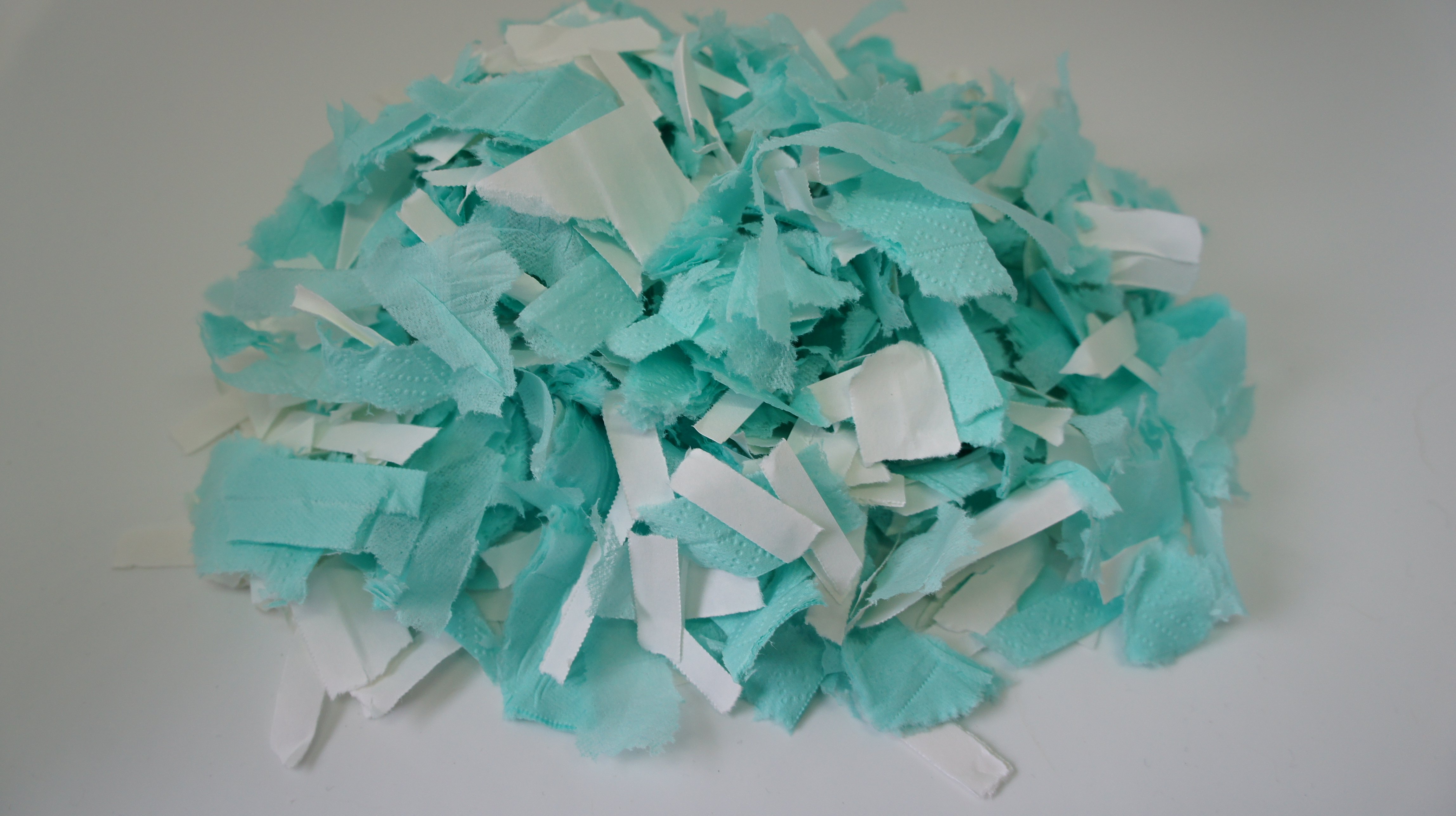 Paper ready to pulp