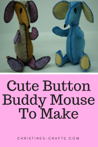 This article is all about making a felt mouse using a House of Zandra pattern.