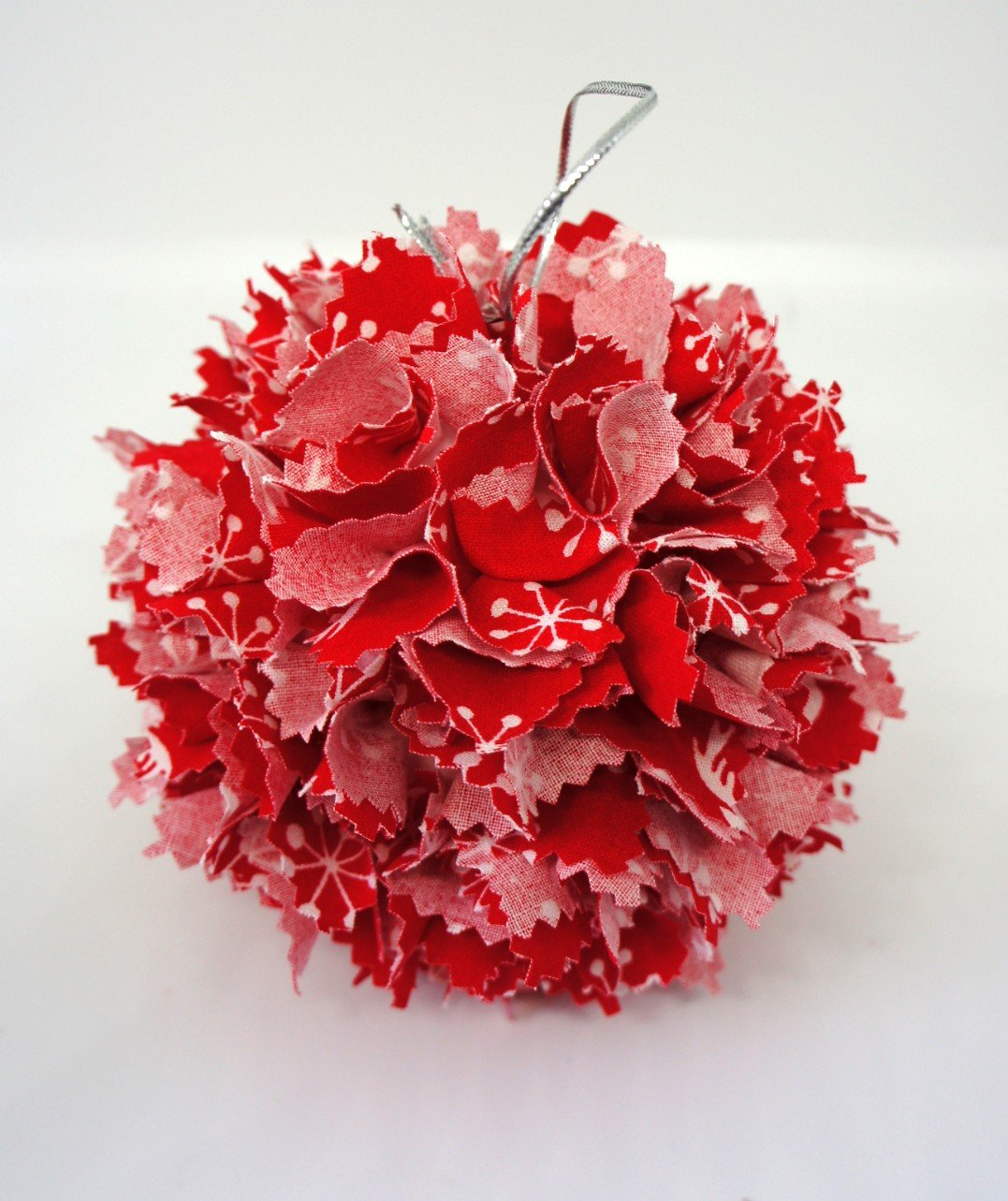 Xmas Fabric Bauble