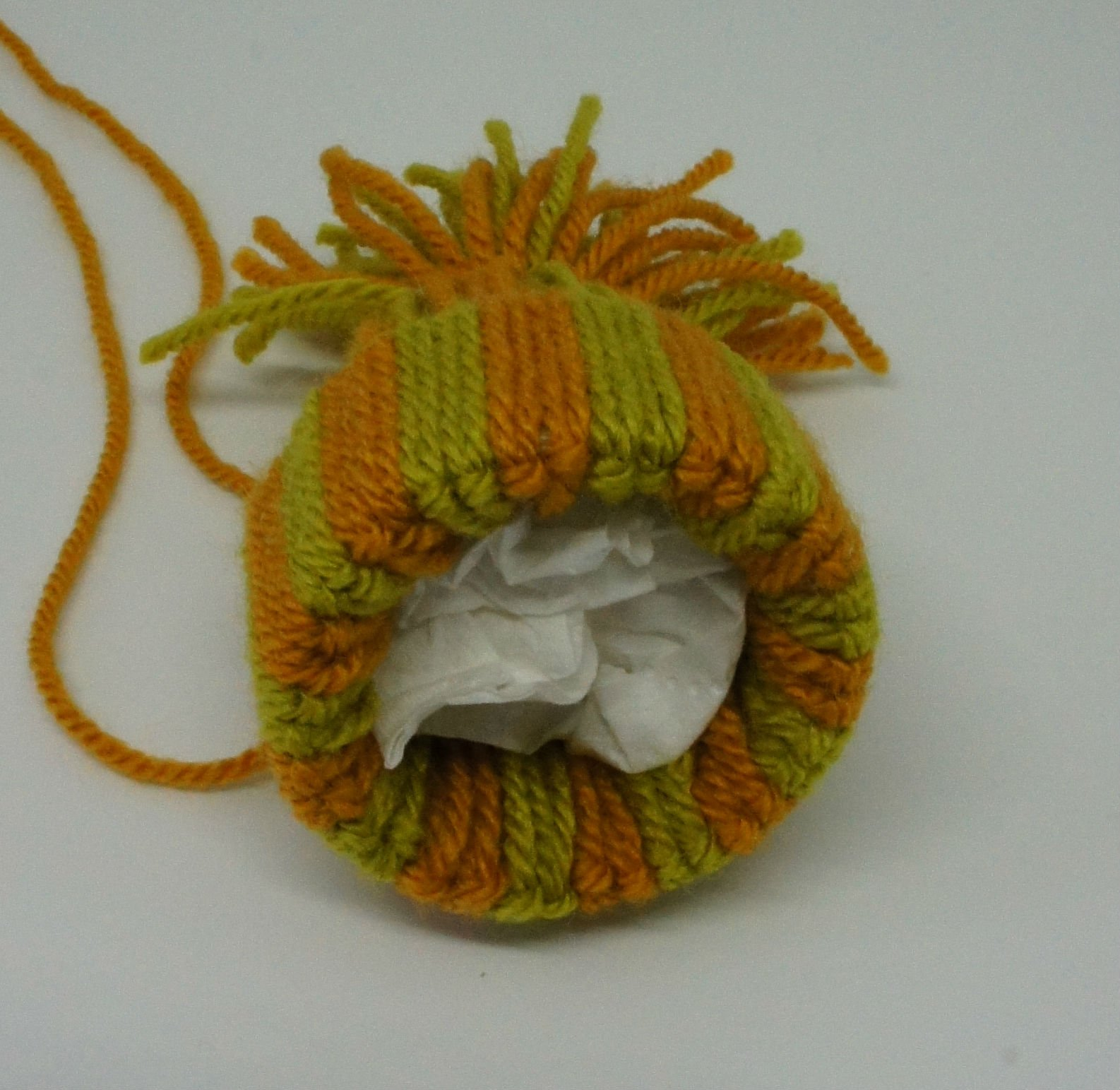 Woolly Hat Ornaments tissue paper inserted