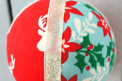 Xmas Fabric Sphere