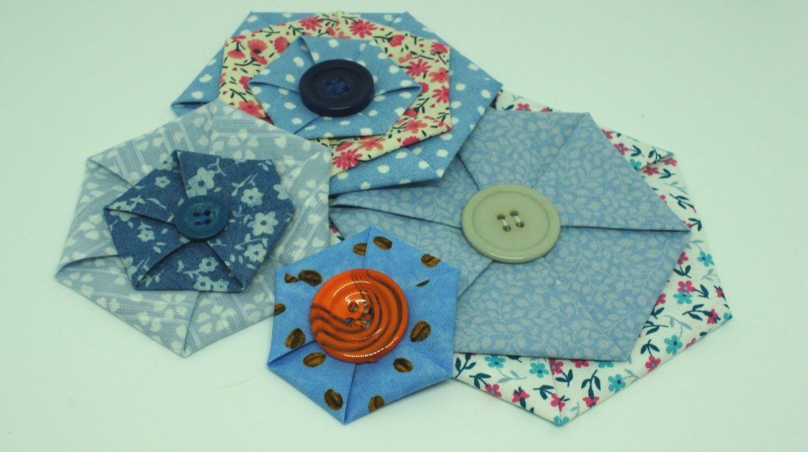 Fabric Hexagons