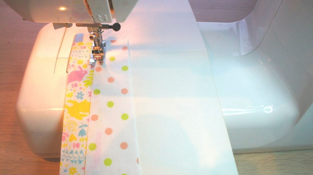 Sewing the card