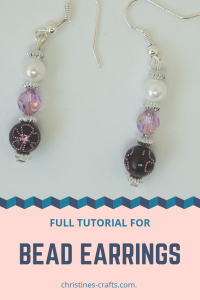 Earrings to make
