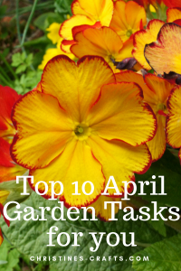 April Garden Tasks Pin