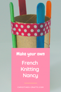 french knitting pin