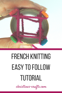 French Knitting Tutorial