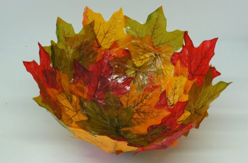 Autumn / Fall leaf bowl