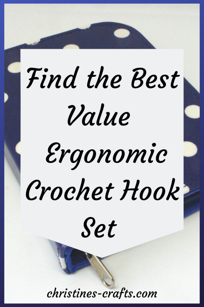 Ergonomic crochet hook set
