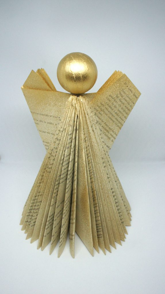Completed Folded Book Angel