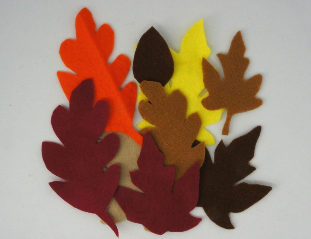 Felt Leaf Shapes