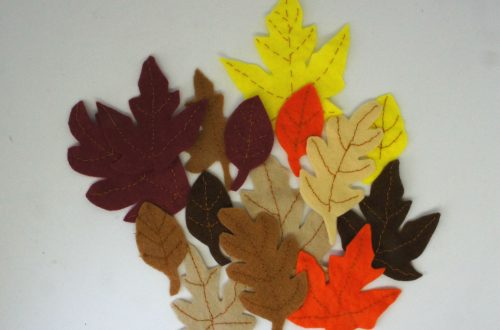 Completed Fall Leaves