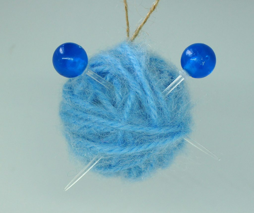 Xmas Decoration for knitters