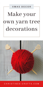 Tree Decorations for Knitters