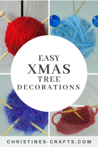 Xmas Decorations for Knitters