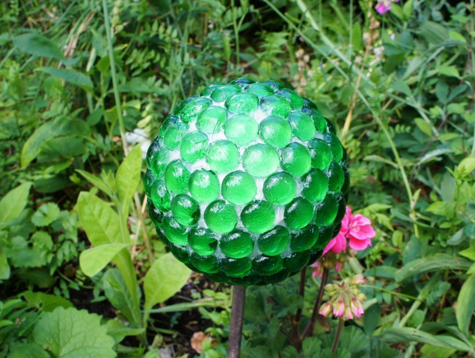 Completed Gazing Ball