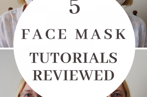 face mask tutorials DIY