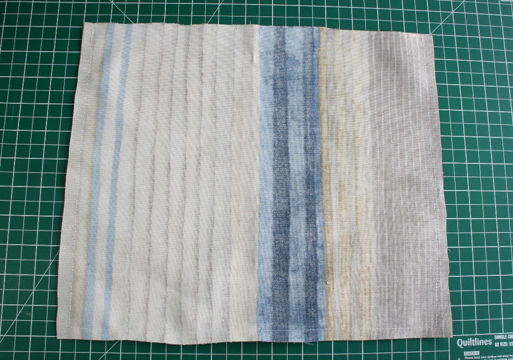 Bag Pieces Sewn Together