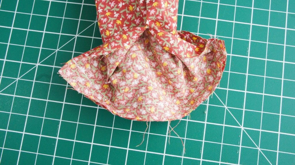 Ends sewn together