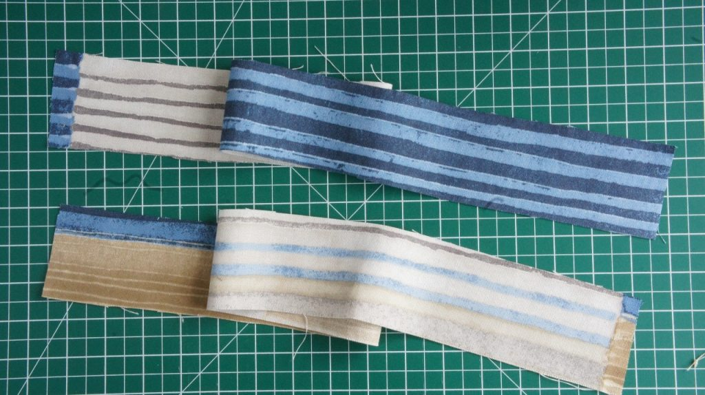 Fabric Strips for Bag Handles